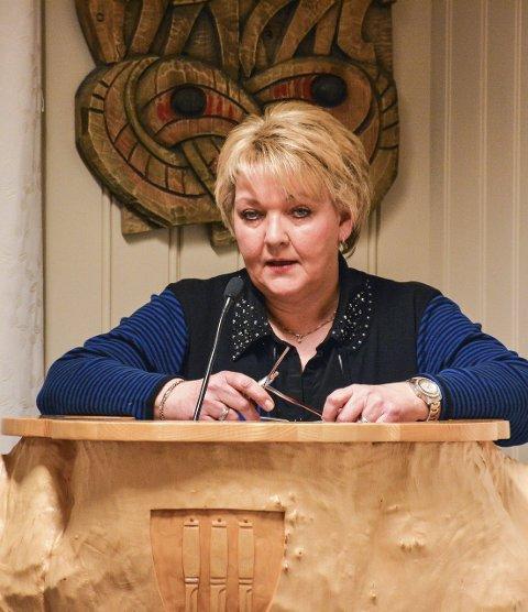 ØNSKER SP-SAMARBEID: Inger Haldis  Løite i Arbeiderpartiet.