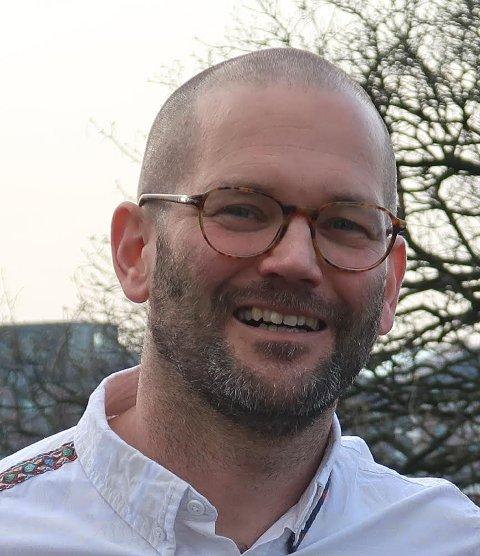 Ordførerkandidat: Alexander Rügert-Raustein fra Randaberg MDG.