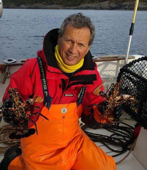 HOBBYFISKER: Rolf Knutsen står bak selskapet Active Fishing Buoys AS. Denne uka fikk haugesunderen midler til prosjektet.