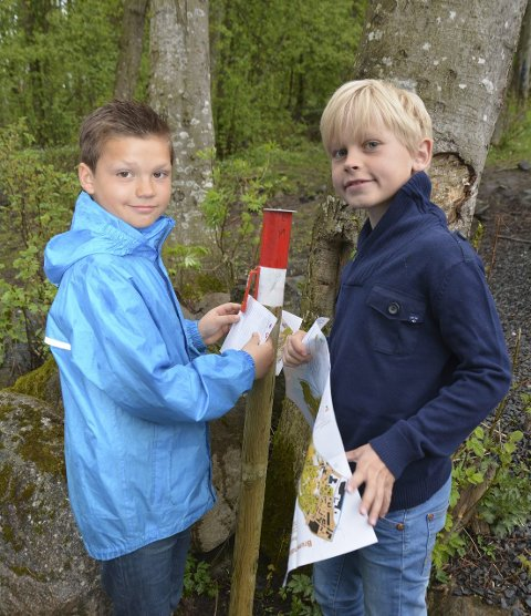 Klippe: Martin Torheim Vik og Oliver Sæthre har sikret seg sine første klipp.