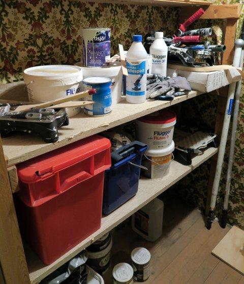 En bod i kjelleren eller i en garasje der du kan regulere temperaturen, er perfekt for maling som skal lagres.
