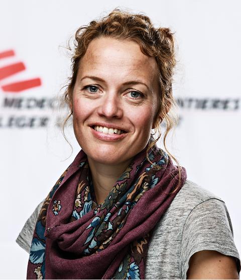 President i Leger uten grenser, Karine Nordstrand.