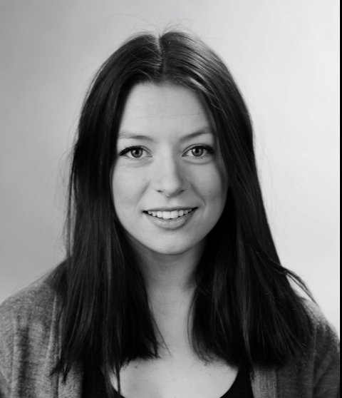 ASTORT TALENT: Erika Calmeyer gikk ut av filmskolen i Lillehammer i 2014 og er klar for å lage kinofilm med lillehamringen Finn Gjerrdrum som produsent.