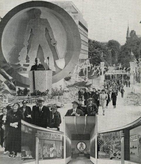 Kostholdmesse: Den Nasjonale Kostholdmesse i Oslo rådhus forsommeren 1936, ble i august fulgt opp av en kostholdmesse nummer to i Elverum. Nesten 200.000 personer besøkte de to messene, som ble fulgt opp av en rekke mindre, lokale tiltak.