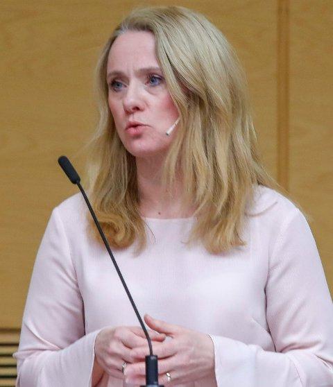 Arbeidsminister Anniken Hauglie.
