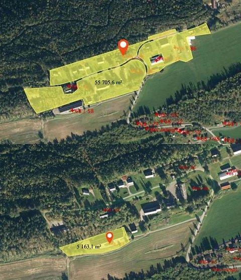 FINSÅS: Dette er eiendommen, hvor Finsås kurssenter holder til, som fylkestinget kan vedta å selge 20. oktober.