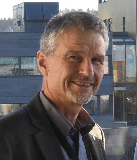 Geir Krogh, leder av Norges Politilederlag.