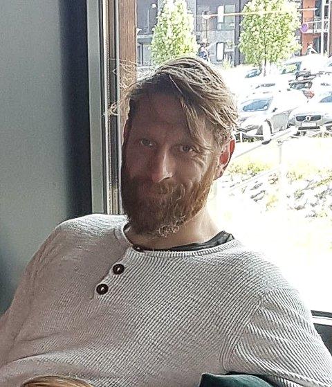 FUNNET DREPT:Christian Halvorsen (44) ble funnet drept i Askim søndag kveld.