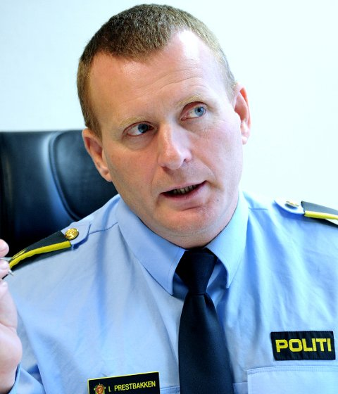 Ønsker beskjed: Lensmann på Hvaler, Ivar Prestbakken, ber huseiere ringe politiet dersom de opplever at huset blir merket.
