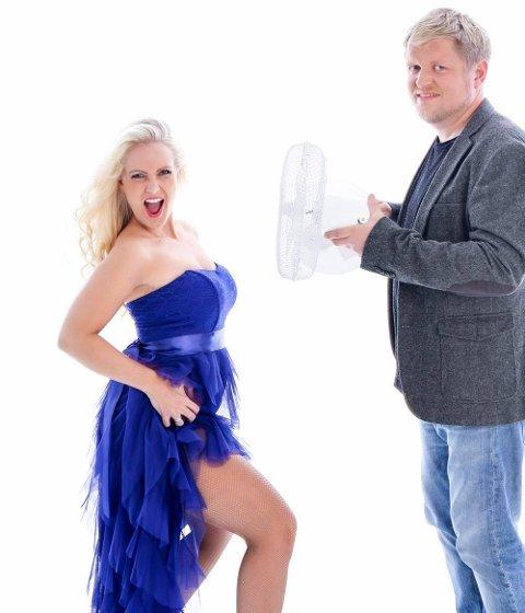 Masse humor: Maria Mohn og Henning Stranden lover en konsert med mye humor.