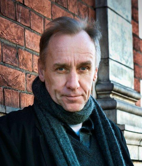 KLAR FOR KRIMKVELD: Håkan Nesser.