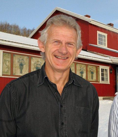 KNALLSOMMER: Tor Erik Grønolen ved Grønolen Fjellgard kan se tilbake på nok en supersommer. FOTO: INGVAR SKATTEBU