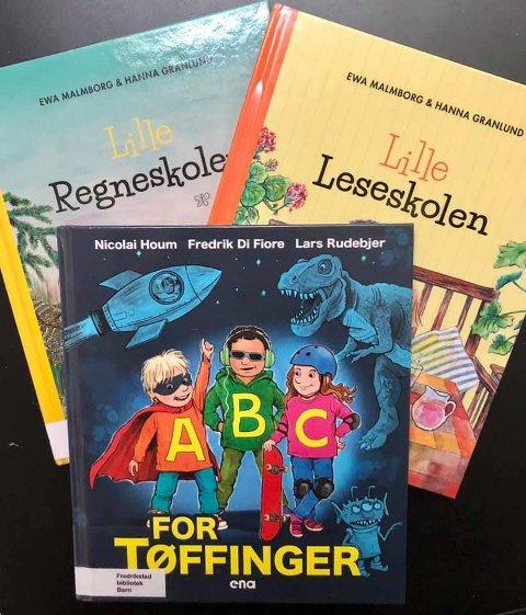 Nye opplevelser og erfaringer skal fordøyes etter de første ukene på skolen.  Her er noen forslag til bøker for de yngste elevene.