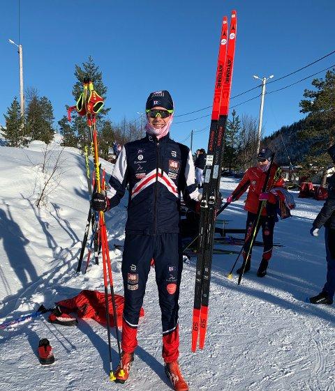 Herman Gløersen leverte en av sine sterkeste pretsasjoner i skisporet lørdag.