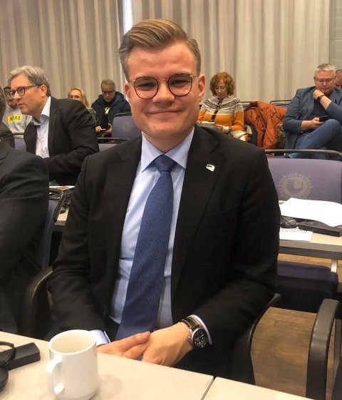 PÅ TOPP: Vetle Langedahl er på topp hos sju av Høyres partilag i Finnmark.