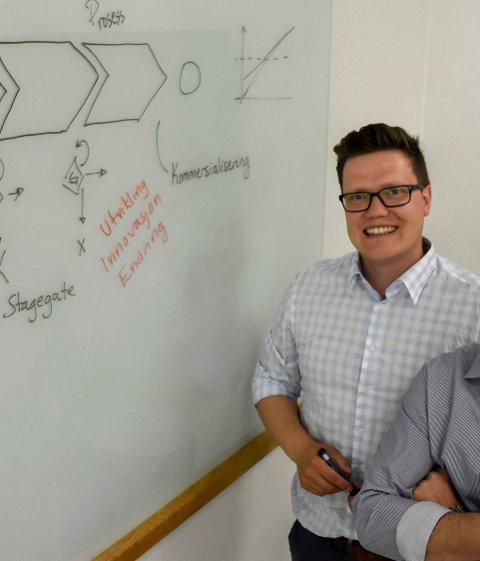 Ny sjef: Stig-Endre Elvevoll skal lede Innovasjonsløftet.