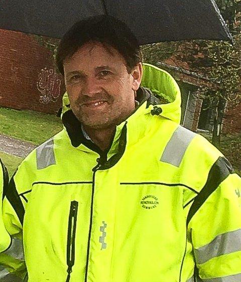 ØNSKER BEDRING: Rune Solberg, enhetsleder for renovasjon i Sandefjord kommune, håper folk kan bli enda flinkere til med plastsorteringen.