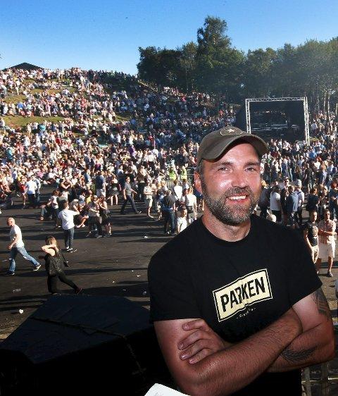 Festivalsjef Gøran Aamodt er fornøyd med årets festival.