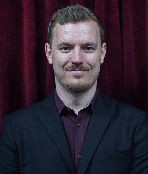 GLEDER SEG: Festivalsjef Øystein Egge gleder seg til årets utgave av Movies on War i Elverum. (Foto: Privat)