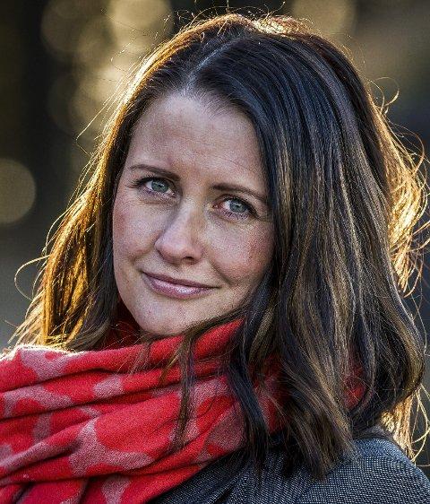 Therese Thorbjørnsen, utvalgsleder for kultur og oppvekst i Sarpsborg kommune. (Foto: Johnny Helgesen)