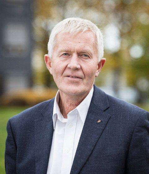Fylkesrådmann Øyvind Sørensen