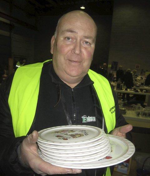 Ulf Berg er primus motor for Ballklubbens loppemarked.