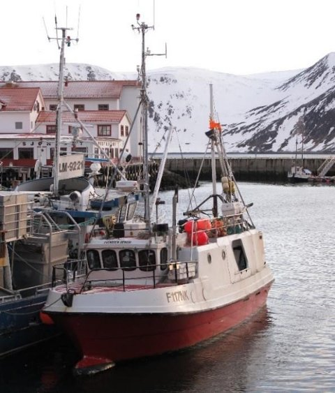 SJARK: Den omkomne fiskeren fra Latvia var på vakt i styrhuset i denne fiskebåten da ulykken skjedde. Foto: SHT