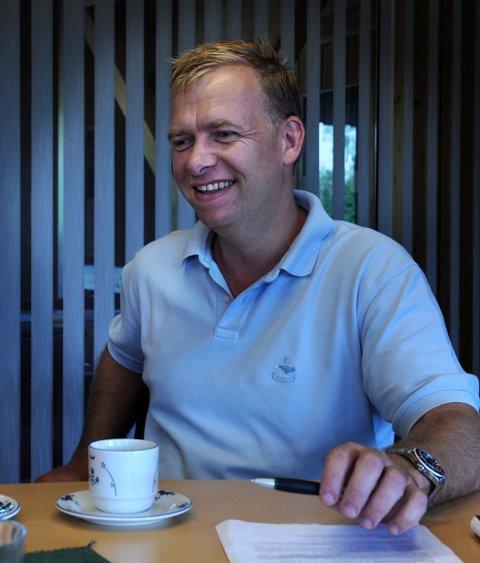 To IGJEN: Daglig leder og fabrikkeier Arne Jebsen skal avgjøre om Hunton velger Gjøvik eller Øyer for Hunton-fabrikk nummer to.arkivbilde