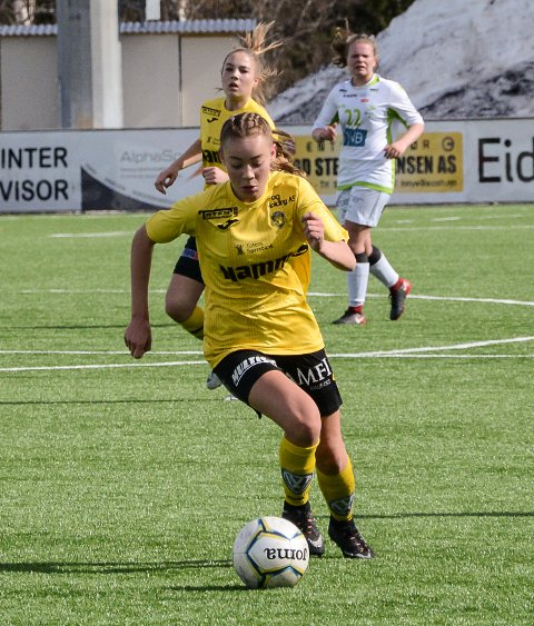 Vilde Skattum Bokalrud scoret mot Fjellhammer i forrige kamp.