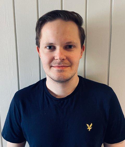 FRA BUNN: Mads Jørgen Gulstad (26) flytter hjem til Steinkjer for å være med å bygge opp Thansen-butikk fra bunnen av.