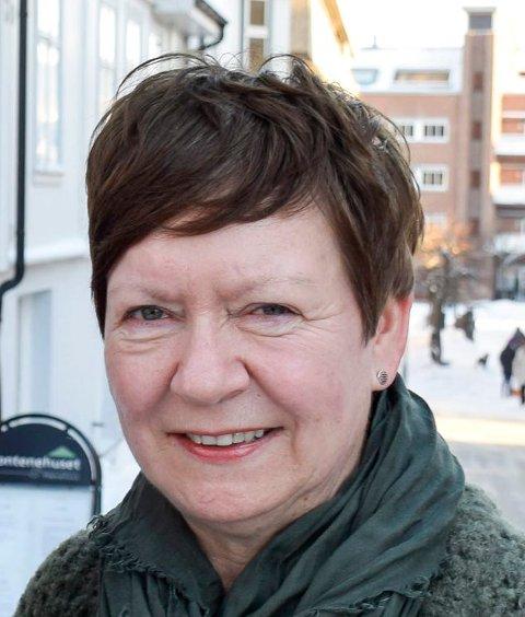 FONTENEHUSET: Annlaug Nielsen var med på å stifte Fontenehuset i Hønefoss, som har 15-årsjubileum i år.