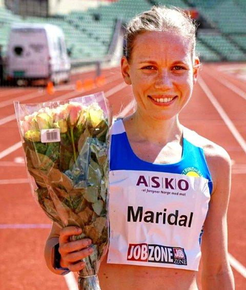 Hanne Mjøen Maridal løp inn til tredjeplass på 33:37,38.