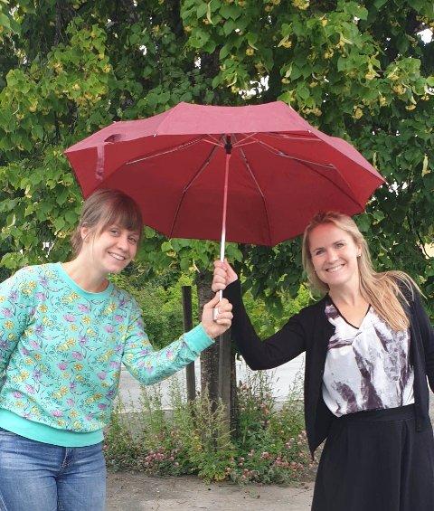 Ida Kristine Benoni og Karin Fristad.