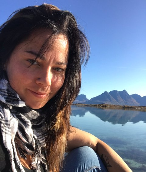 Uten kontakt: Kristine Havblikk trives med naturen i Hattfjelldal, men er ikke fornøyd med at hun ikke har muligheten til å få kontakt med andre.