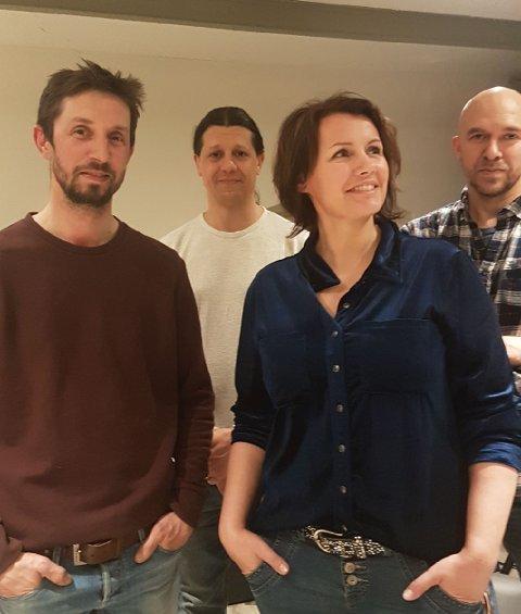 Konsert: Sammen med Per Christian Aurdal, Jehad Hammad og Remi Fagereng holder Christina Ødegård konsert lørdag.