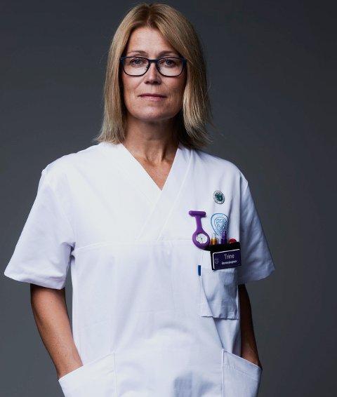 Fylkeslederen: Trine Bruseth Sevaldsen setter pris på at det kommer signal om at det må satses mer på helse og omsorg.