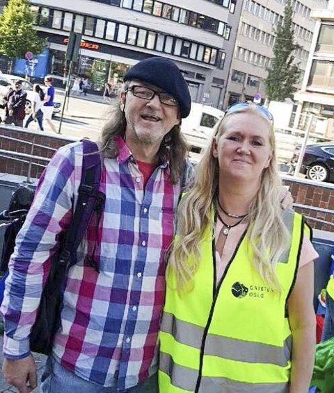 Turid setter stor pris på alle menneskene hun møter, ikke minst de hun har blitt kjent med som bor på gata i Oslo.