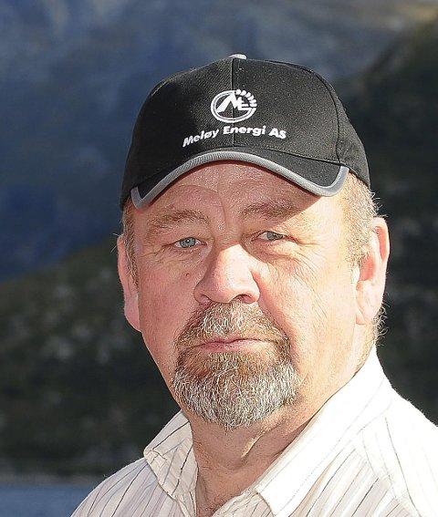 Uenig med regjeringen: Styreleder Kjell Sahl, Meløy Energi AS