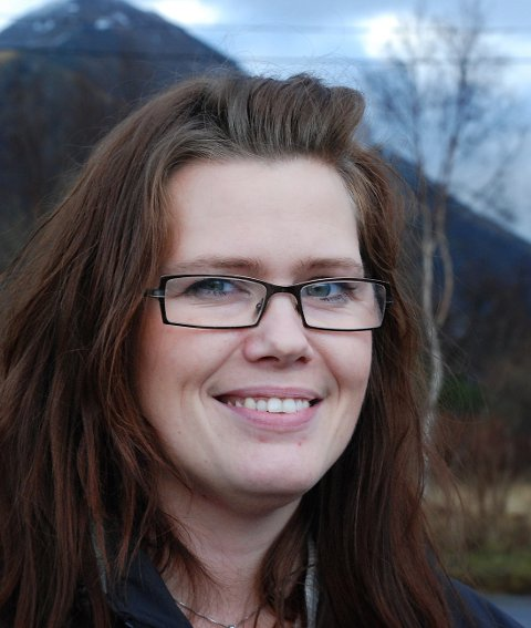 Avviser kritikk: Leder Fagforbunde Meløy, Anita Ragnvaldsen.