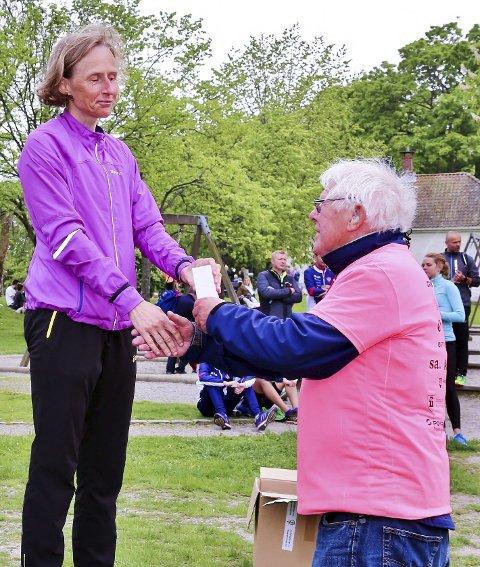 FRA OSLO: Siri Størmer var dagens raskeste dame.