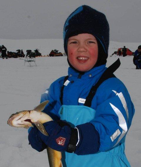YNGSTE VINNER: Ivrin Skjåvik-Kollstrøm var bare tre år da han vant i 2013.