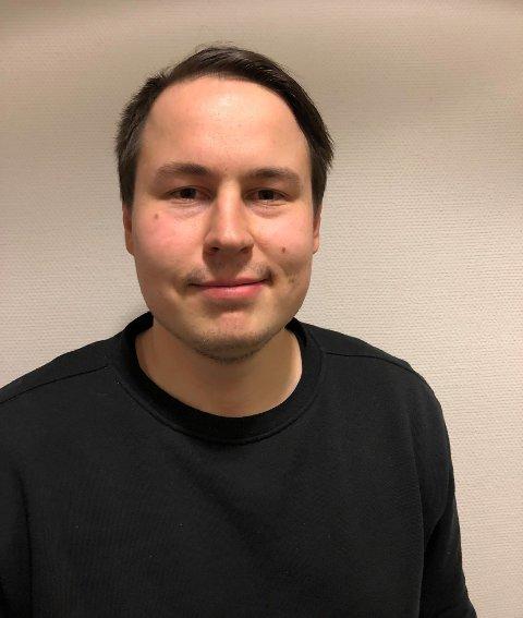 KONFLIKTFYLT: Henrik Seppola Larsen er hovedtillitsvalgt hos Akademikerene, og forteller om høyt konfliktnivå i samarbeidet mellom Finnmark og Troms.
