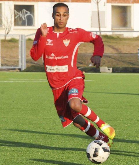 Nøkkelspiller: Saeed Ahmed Rahim scoret to nye mål da SIF vant stort igjen.foto: øivind Eriksen