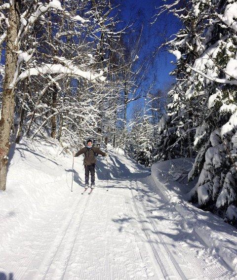 TOPP: Skiføre.