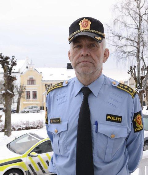 Politistasjonssjef Øystein Skottmyr