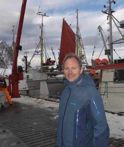 FISKERIHAVN: Remi Solberg er innnstilt på at kommunen skal overta fiskerihavna på Kleivan.