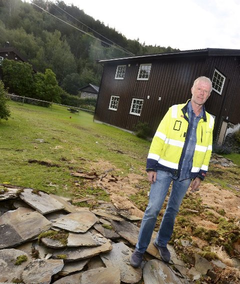 Seksjonsleiar bygg i Eidefoss og prosjektleiar for bygginga i Nedre Tessa, Jan Harald Bakke.