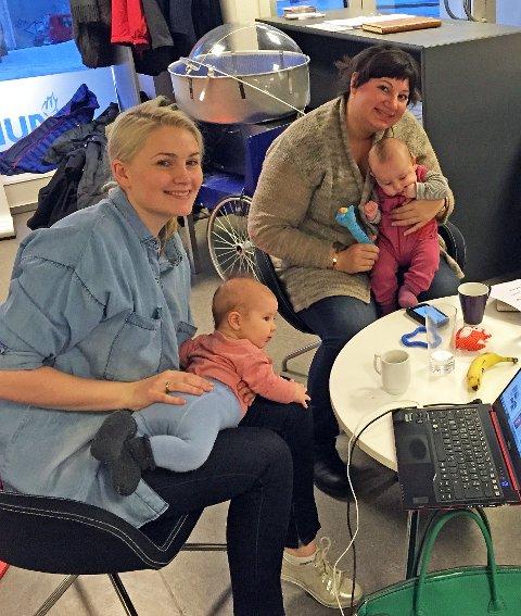 OBLIGATORISK: Ragni Løkholm Ramberg og Tone Marie Myklevoll vil at vaksiner i barnevaksineringsprogrammet igjen skal bli obligatorisk for alle. Foto Privat