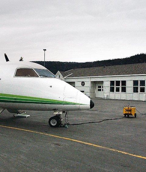 Mo i Rana lufthavn Røssvoll.