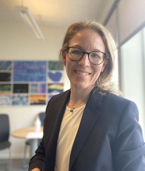 NY JOBB: Elisabeth Erle Borg starter i Frosta kommune 2. august.